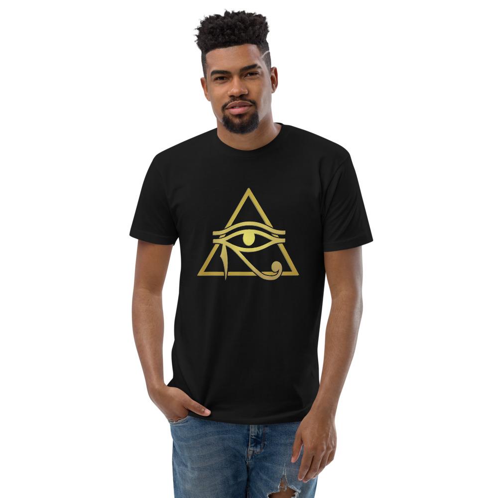 Eye of Heru Men's Fitted T-Shirt - Next Level 3600