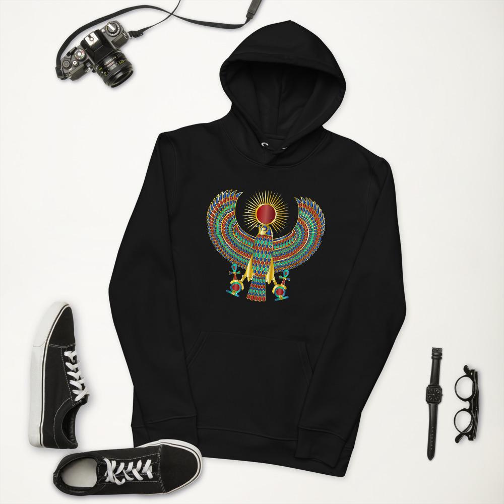 Heru The Falcon Unisex essential eco hoodie