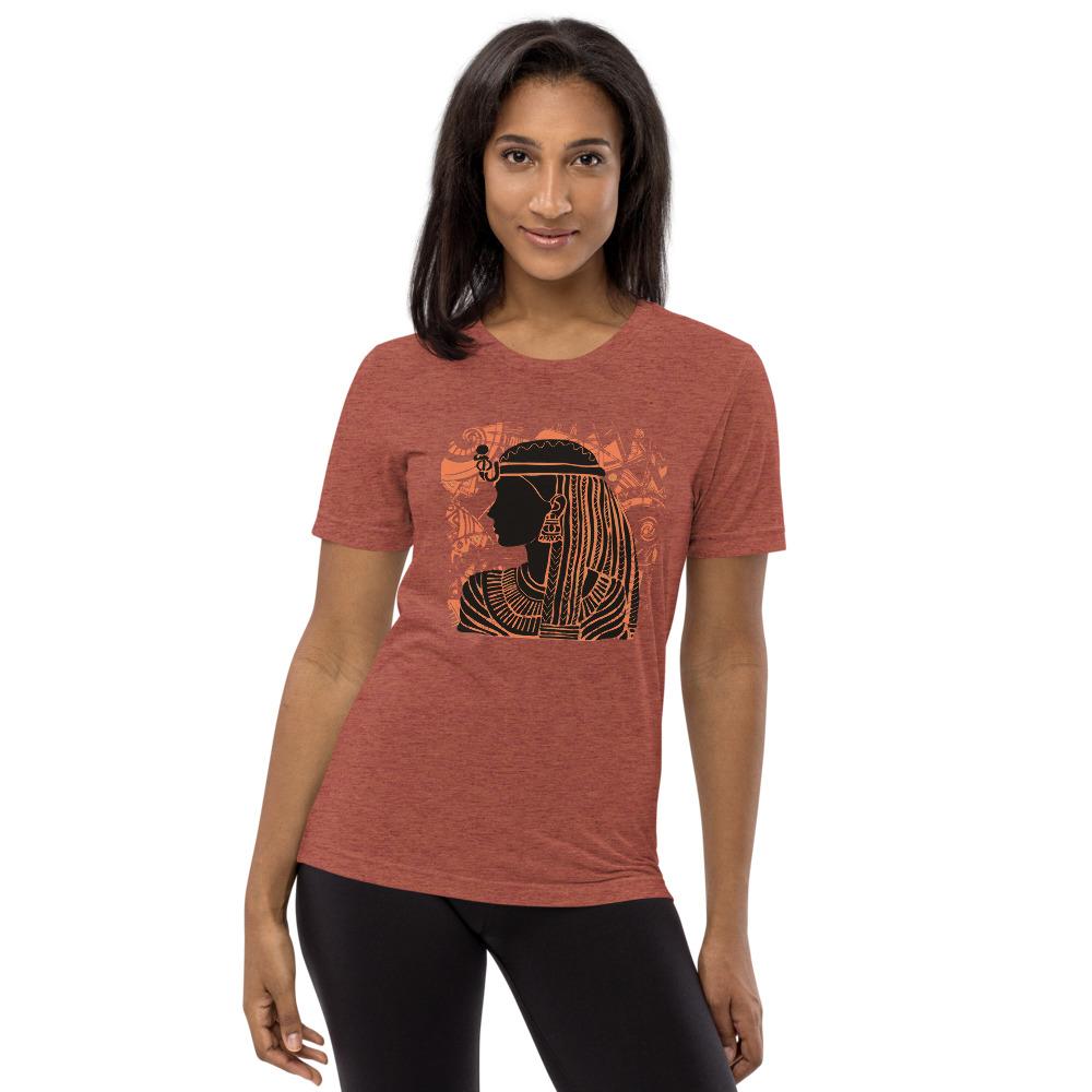 Kemetic Queen Unisex Tri-Blend T-Shirt - Bella + Canvas